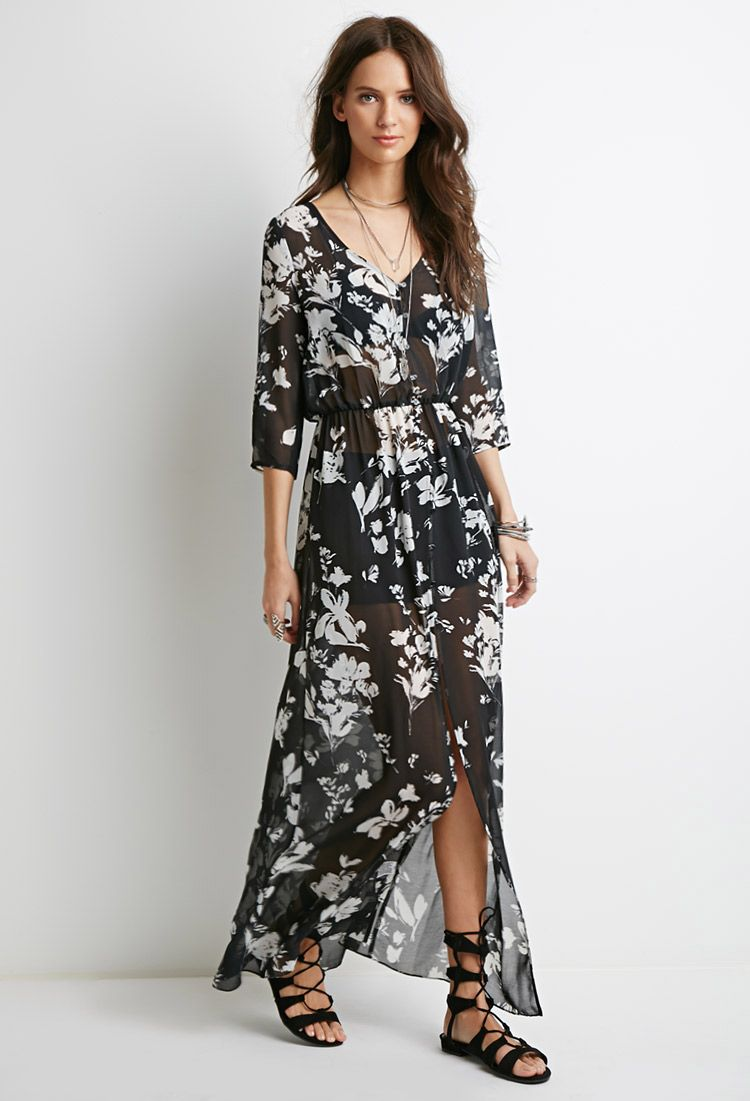 98867fee8 16 fotos increíbles de vestidos floreados - Miss Coqueta