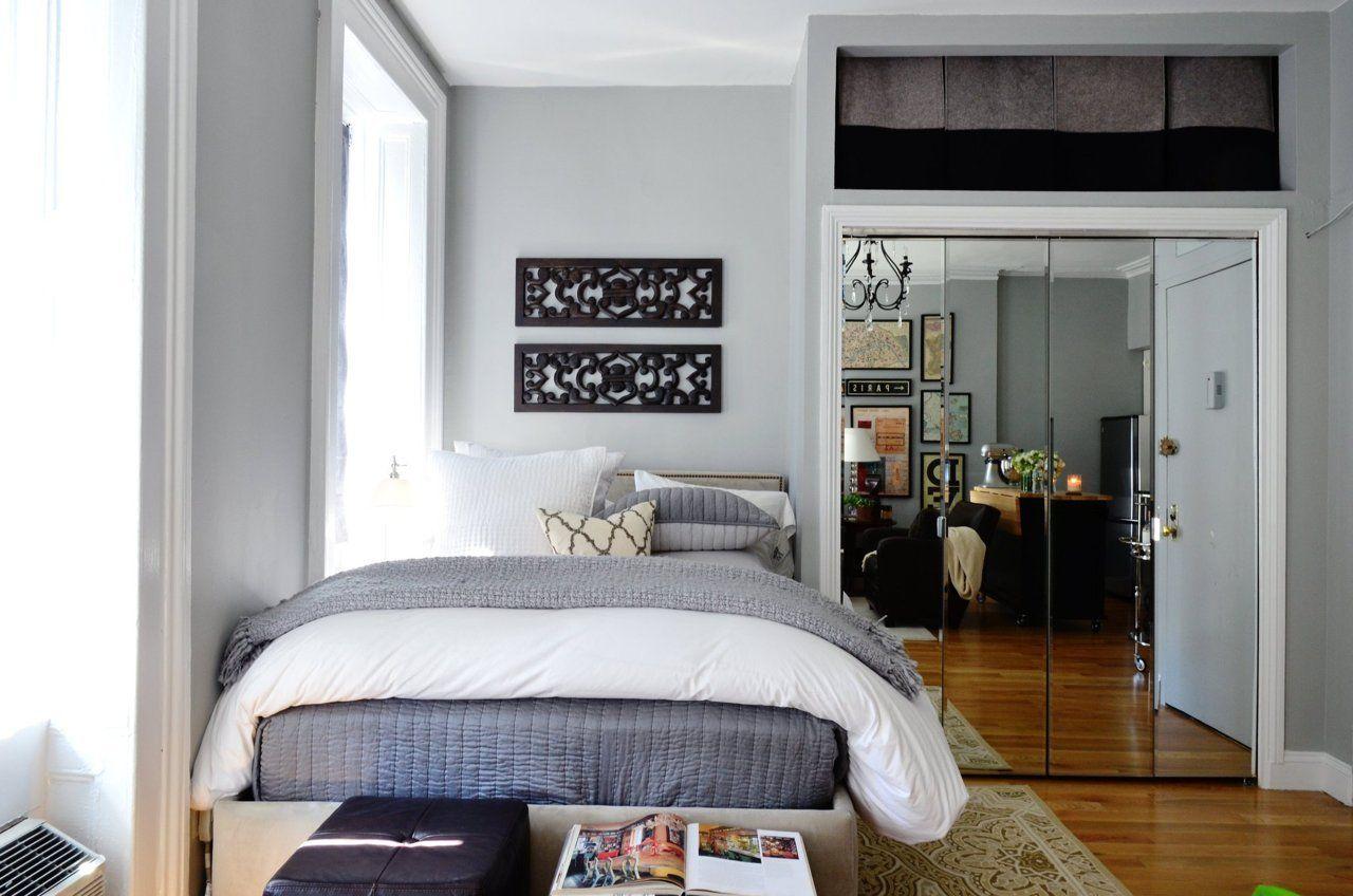 Estudio loft en nueva york mujer 20 - Camas pegadas ala pared ...
