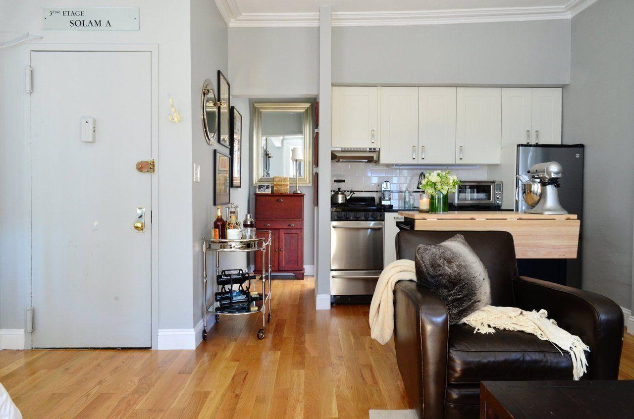 Estudio loft en nueva york mujer 20 for Decoracion de cocina comedor living pequenos
