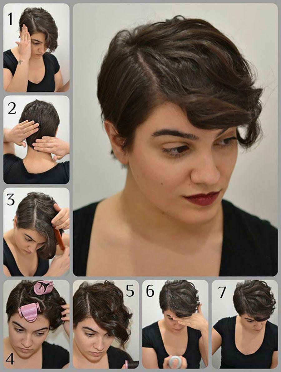 5 peinados fáciles para cabello corto