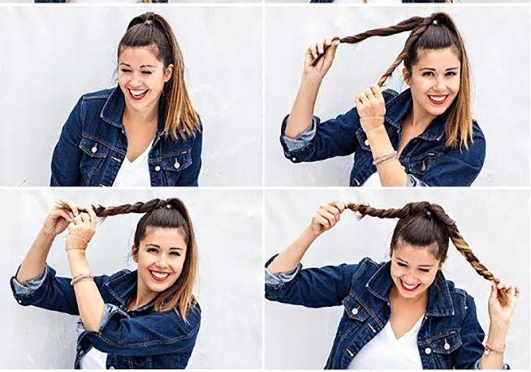 4 peinados fáciles para cabello largo paso a paso