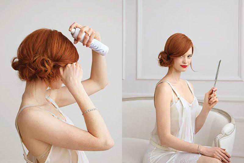 Peinado para una boda recogido lateral mujer 20 - Peinado para boda de dia ...