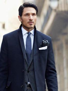 trajes hombre